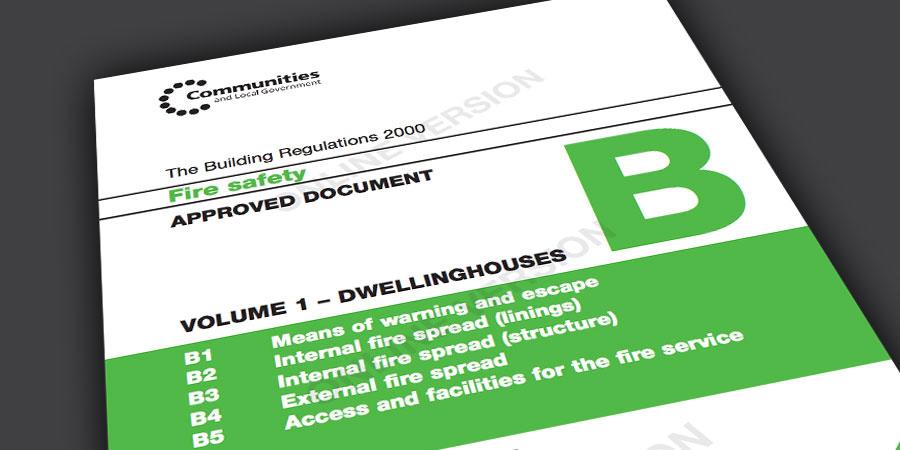Stairways Fire Safety Build Regulations Part B Vol 1