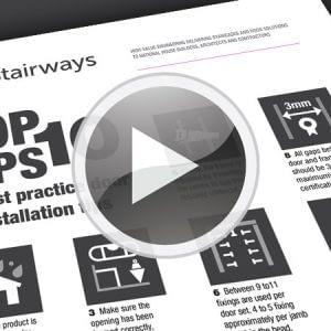 Stairways Door Installation Top 10 Tips