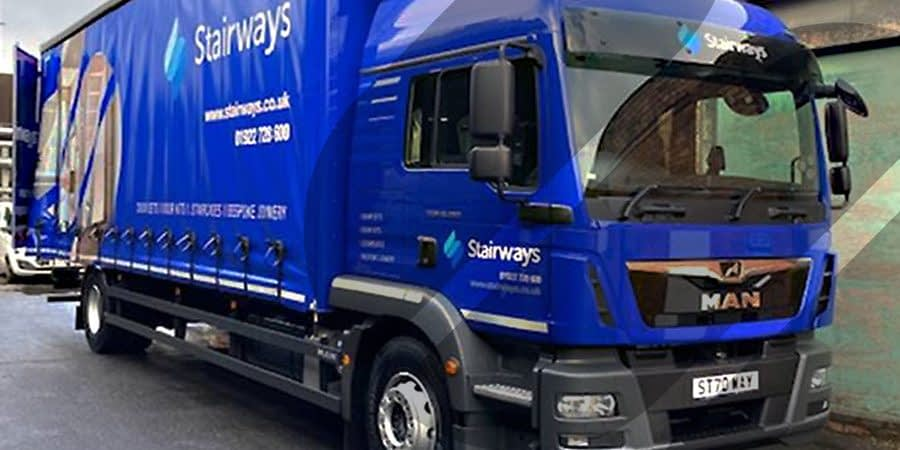 New lorry for Stairways walsall