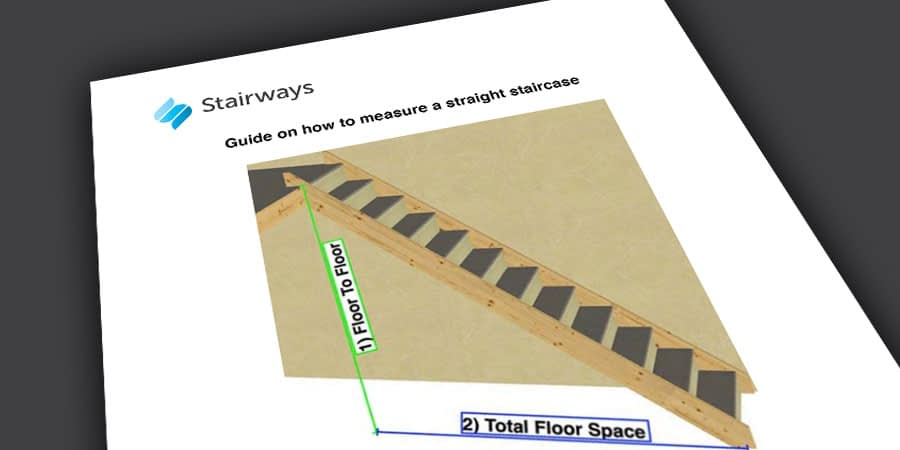 Stairways Straight Staircase Measuring Guide