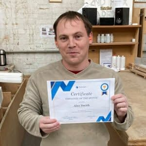 Stairways Employee of the month – Alex Smith