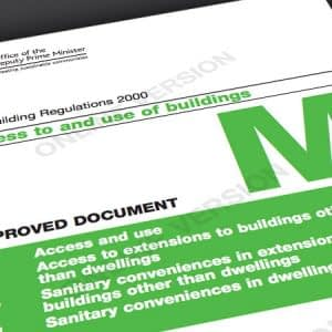 Stairways Building Regulations Part M Access to and use of buildings