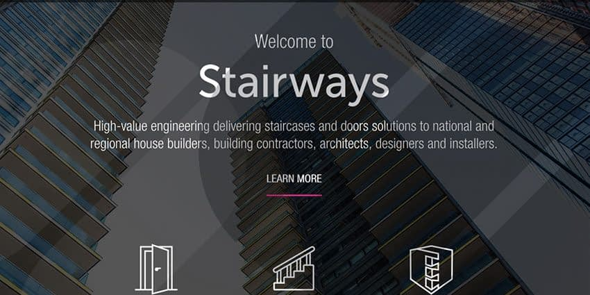 Stairways New website, we would welcome your feedback