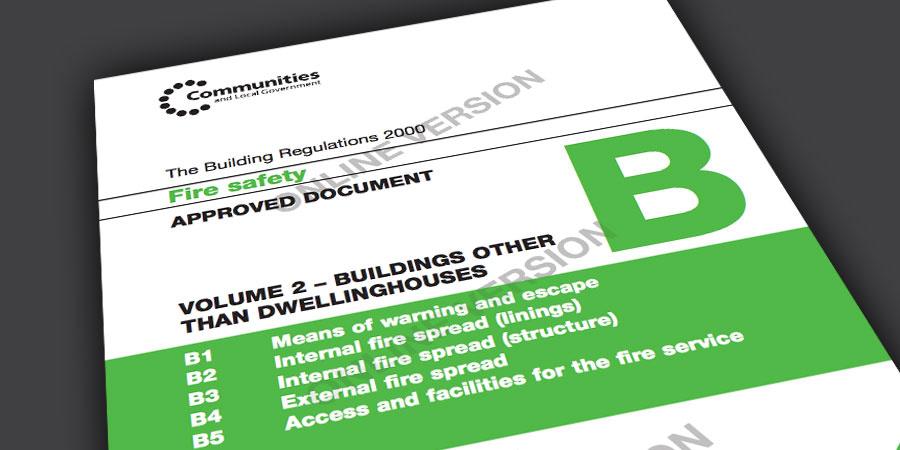 Stairways Fire Safety Building Regulations Part B Vol 2