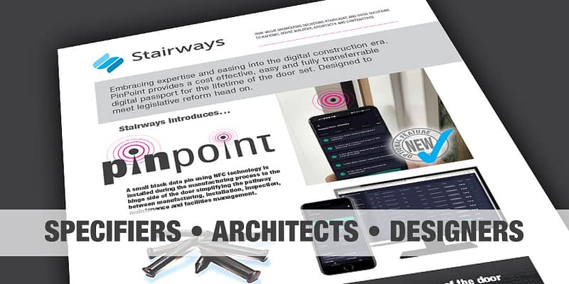Stairways PinPoint (specifiers, architects, designers)