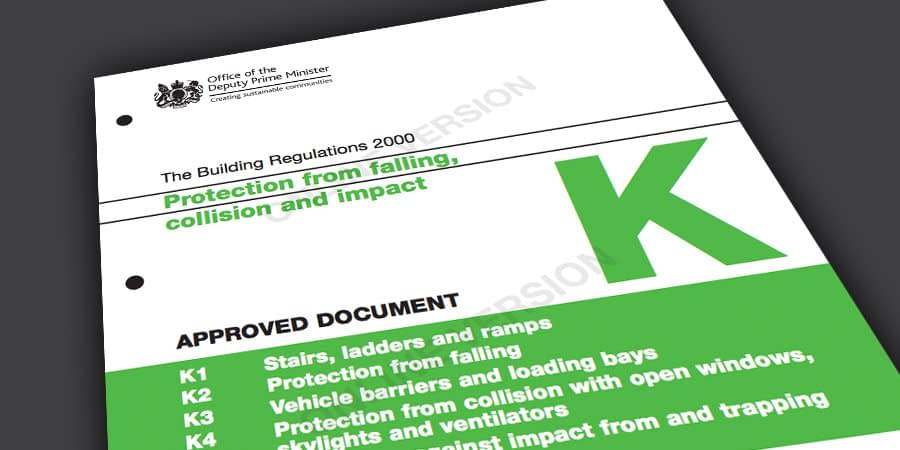 Stairways Building Regulations Part K Protection From Collision and Impact