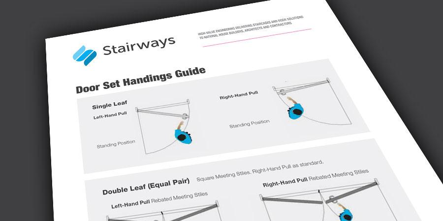 Stairways Door Set Handings Guide